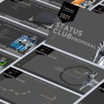 Investec Status Club Proposal Presentation Design