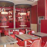 KFC Restaurant Photography