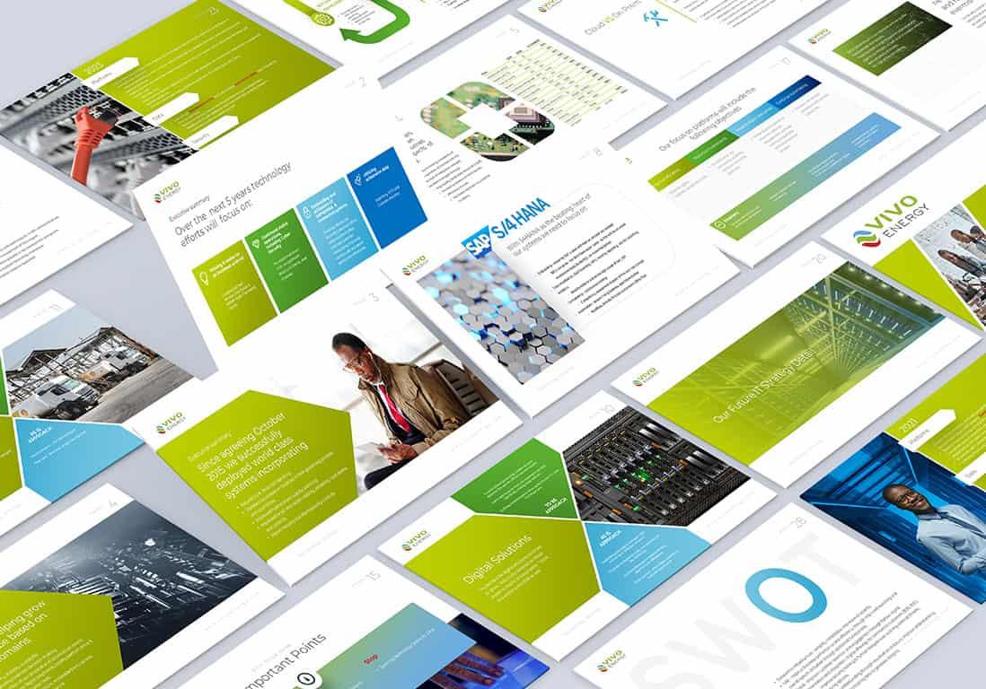 Presentation Design for Vivo Energy