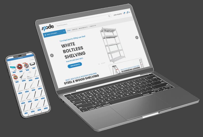 eCommerce Laptop & Phone